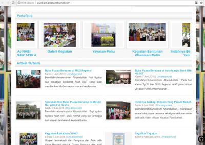 design jasa membuat website blog berita toko online yayasan sosial