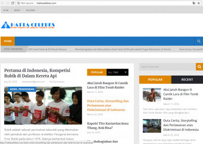 jasa membuat website blog berita toko online yayasan sosial