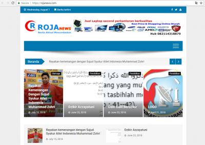 jasa membuat website portal berita