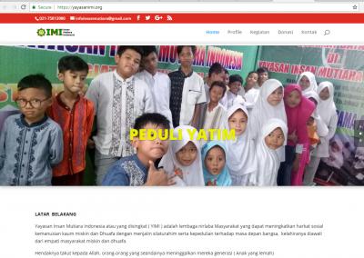pasarweb jasa membuat website blog yayasan sosial profil