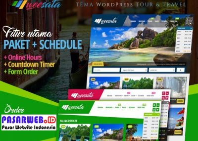 website wisata travel