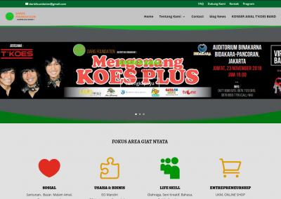 jasa membuat website daris foudation pasar web